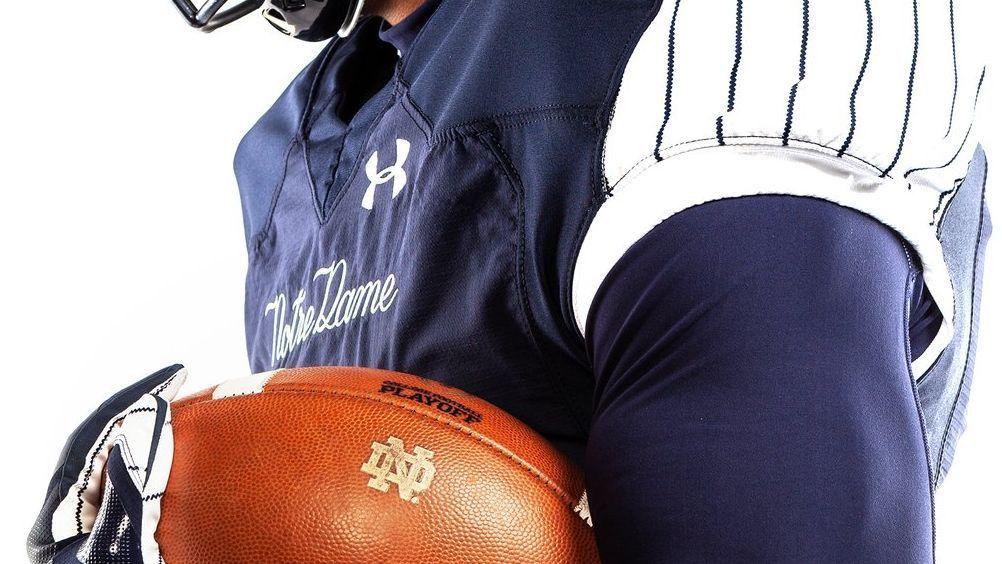Best of Week 12: Notre Dame's Yankees-inspired pinstripe unis