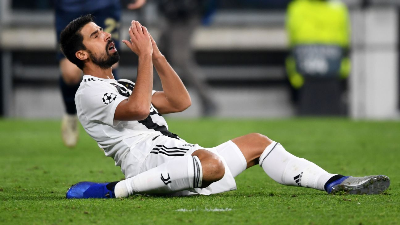 Juventus: Sami Khedira fue intervenido del corazón por arritmia; será baja un mes