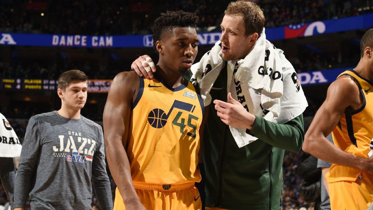 Mitchell buscará ante Celtics olvidar mala noche contra 76ers