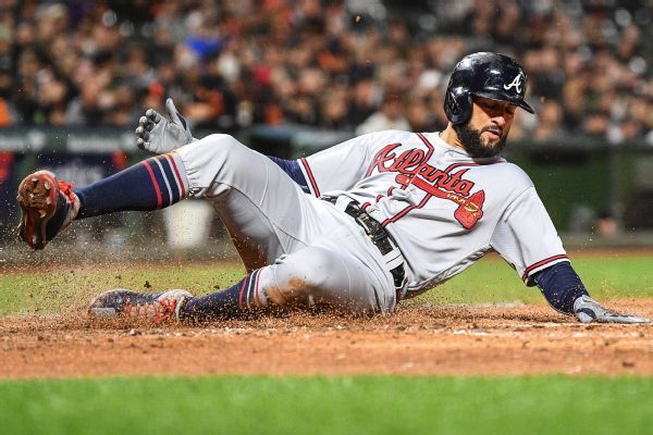 Nick Markakis returning to Braves with one-year deal