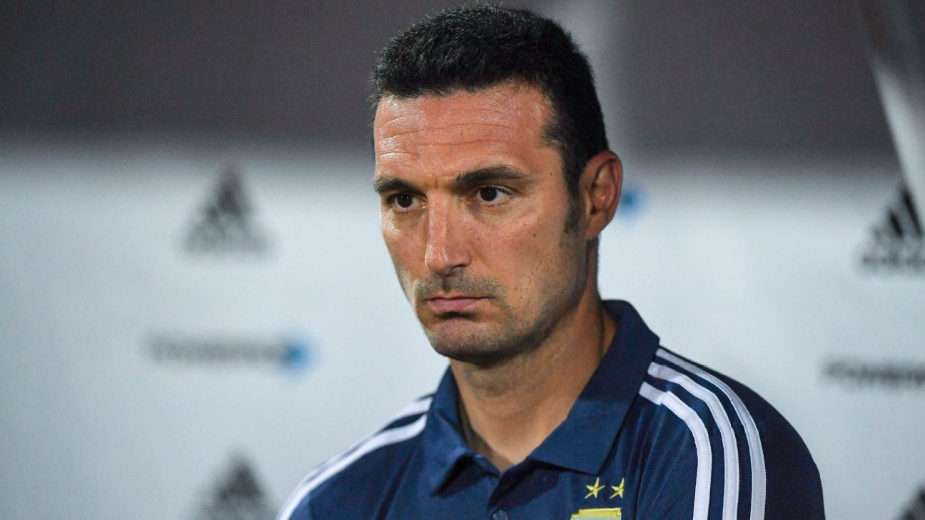 Argentina players support Lionel Scaloni for permanent manager