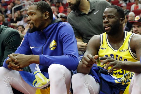 Kevin Durant says Draymond Green dust-up won't factor in free-agency decision