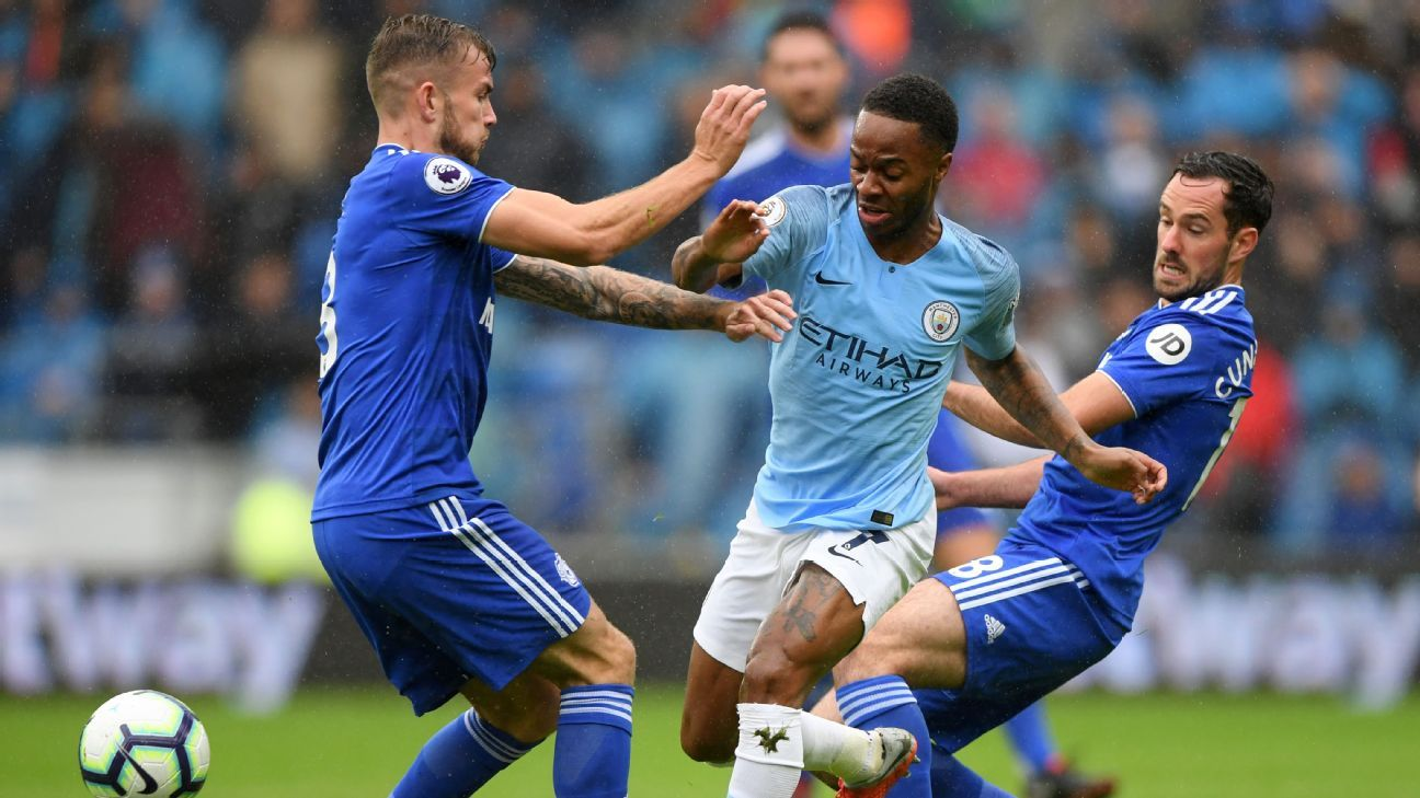 Raheem Sterling has blossomed into a truly world-class player for Manchester City, England