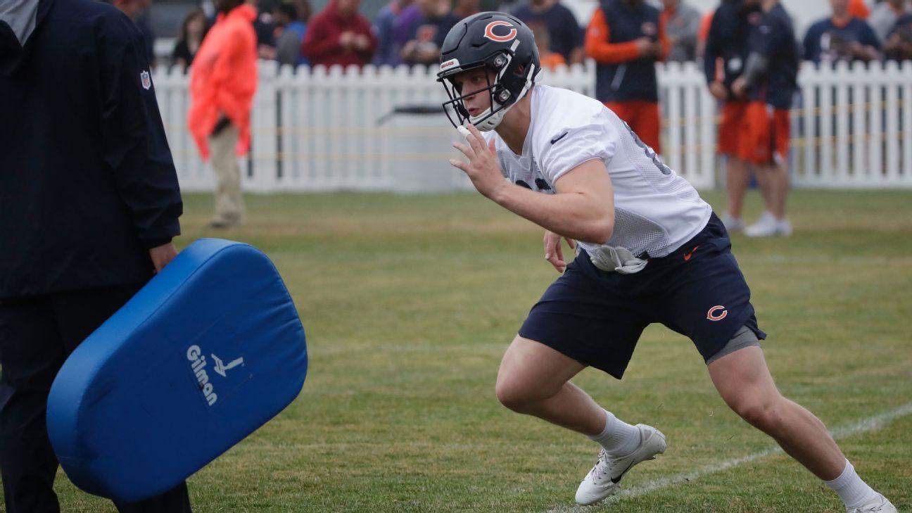 Los Bears activaron de la lista de reservas lesionados a Adam Shaheen