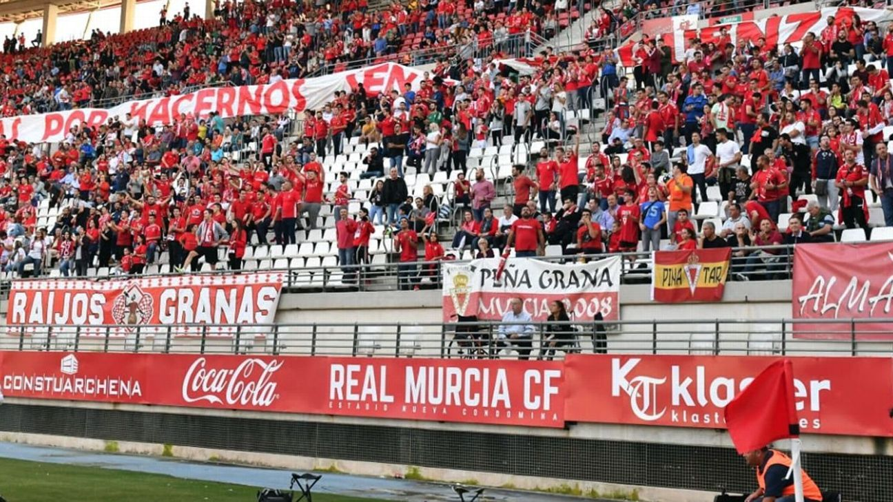 Fans trying to save Real Murcia after years of broken promises and debt