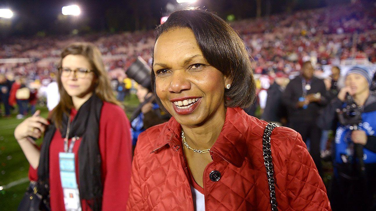 Condoleezza Rice está en la órbita de los Browns para entrevista