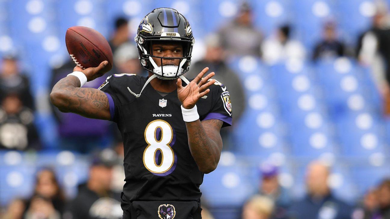 Lamar Jackson debuta como titular con los Baltimore Ravens