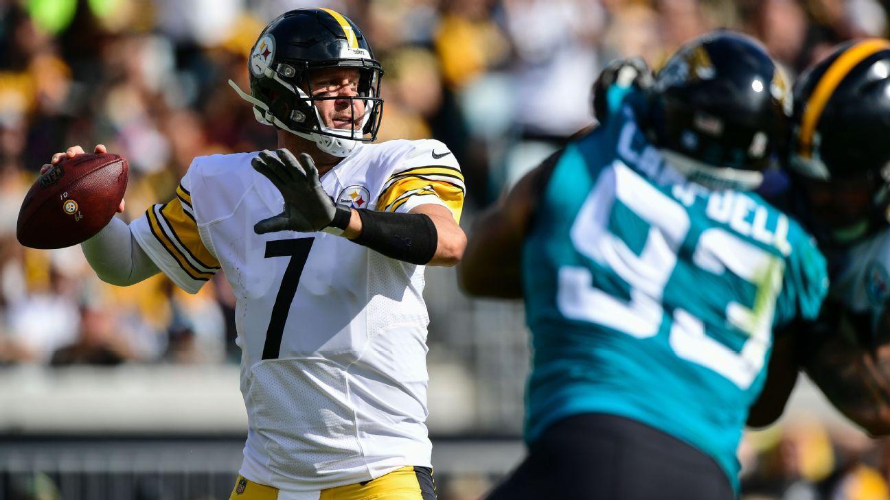 Ben Roethlisberger ganha novo contrato de R$ 271 milhões do Pittsburgh Steelers
