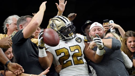 Saints' historic offense maintains incredible pace in rout