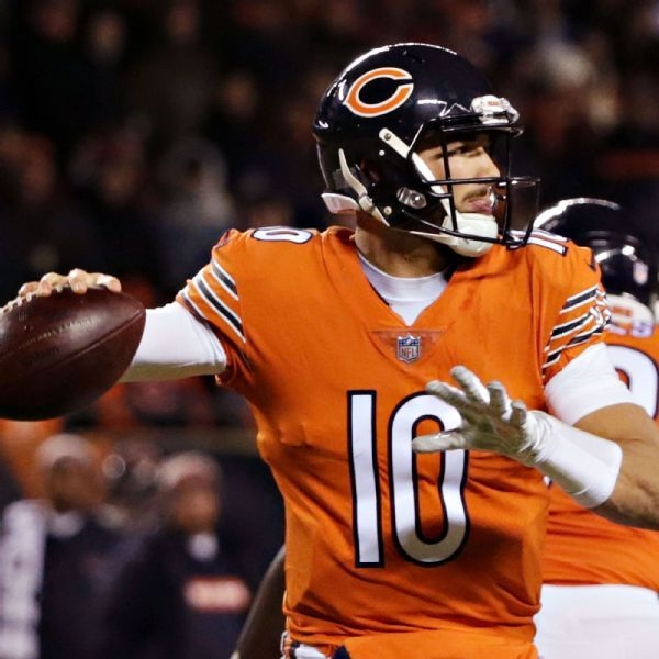 Matt Nagy 'cautiously optimistic' Bears QB Mitchell Trubisky will face Lions