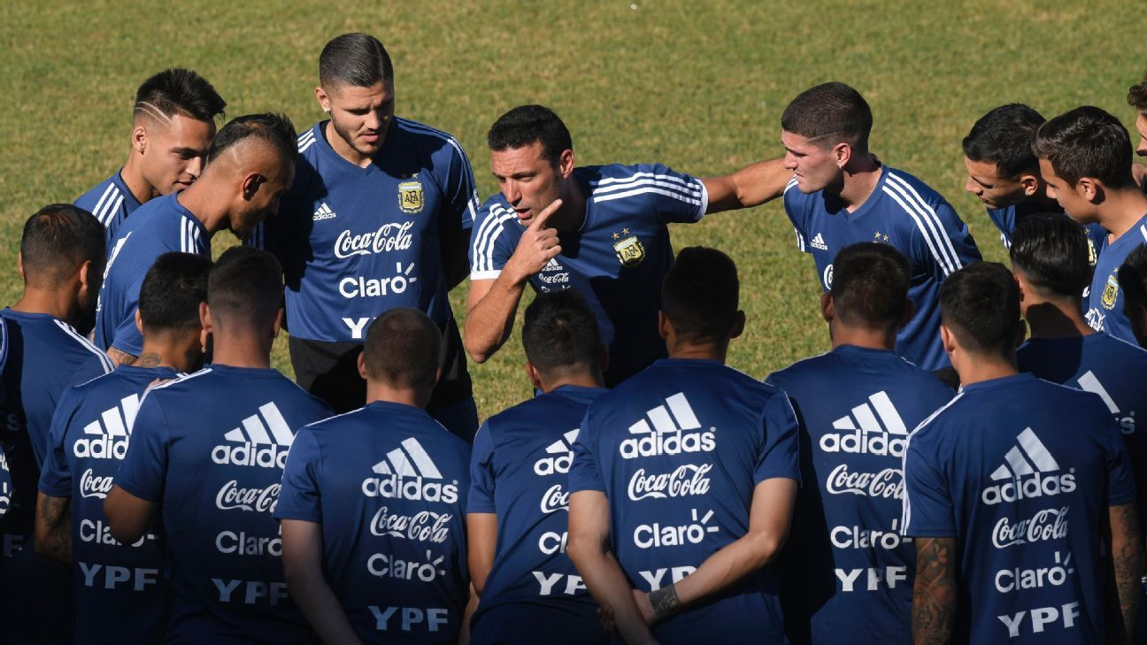 Argentina showing signs of renewal under Lionel Scaloni