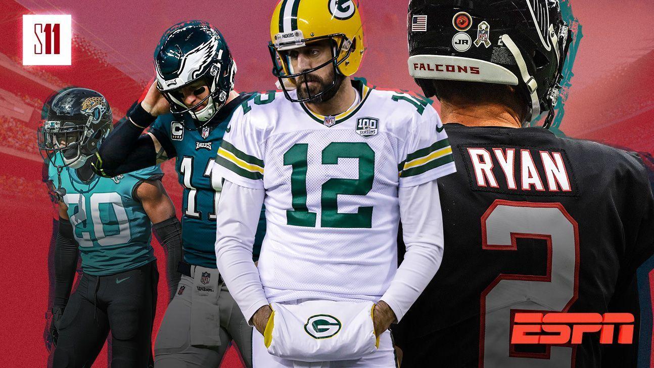 Se cierran las puertas de playoffs para algunos protagonistas de la NFL