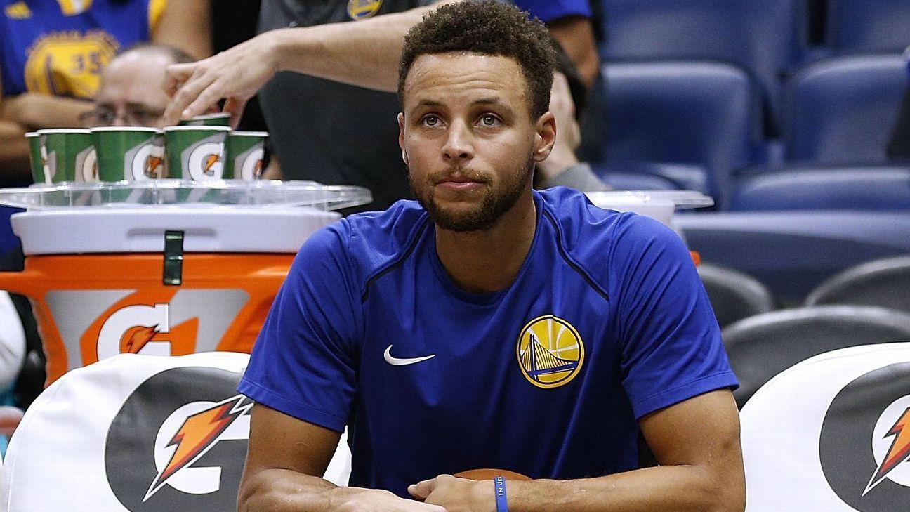 NBA: Warriors discutem futuro de Durant, mas números revelam que quem faz falta mesmo é Stephen Curry