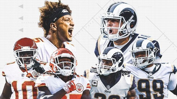Chiefs, Rams meet in possibly high-scoring, Super Bowl-preview