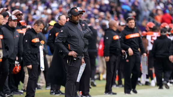 Players find inspiration if not victory with Marvin Lewis calling defense