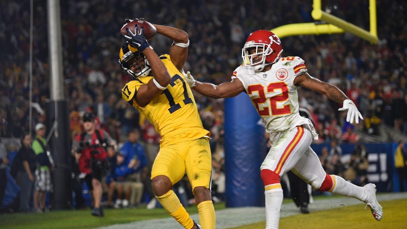 """Chiefs y Rams imponen múltiples marcas en duelazo de """"MNF"""""""