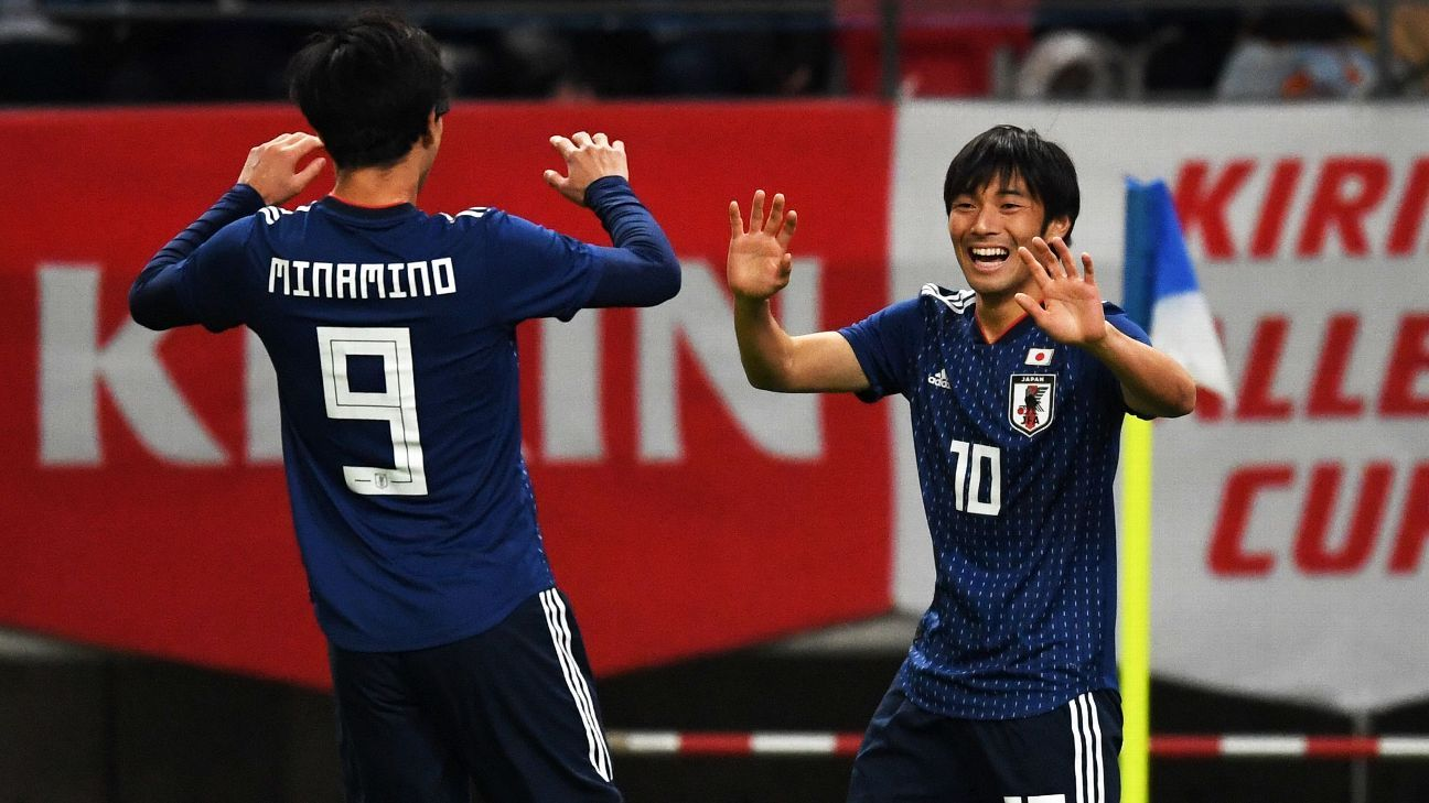 Japan breeze past Kyrgyzstan to win final Asian Cup warm-up