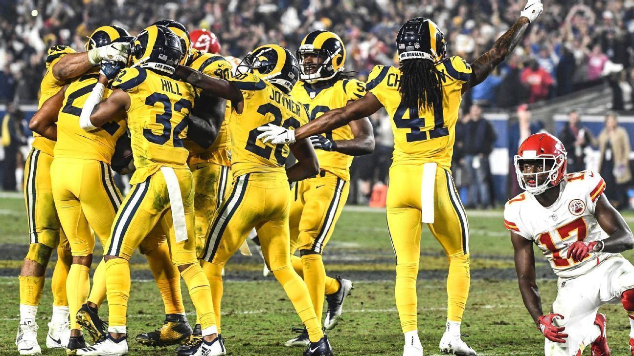 Chiefs-Rams, el mejor juego de la historia en temporada regular
