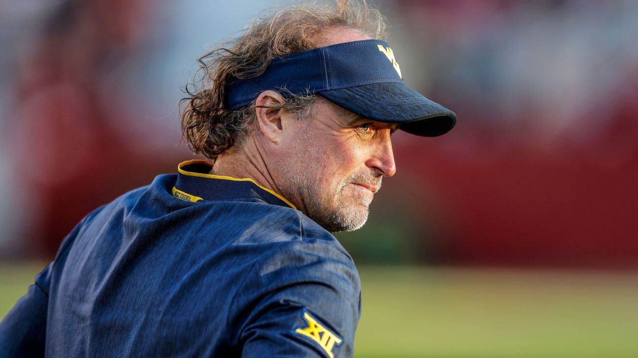 Let's go win the game: Dana Holgorsen has no fear of failure