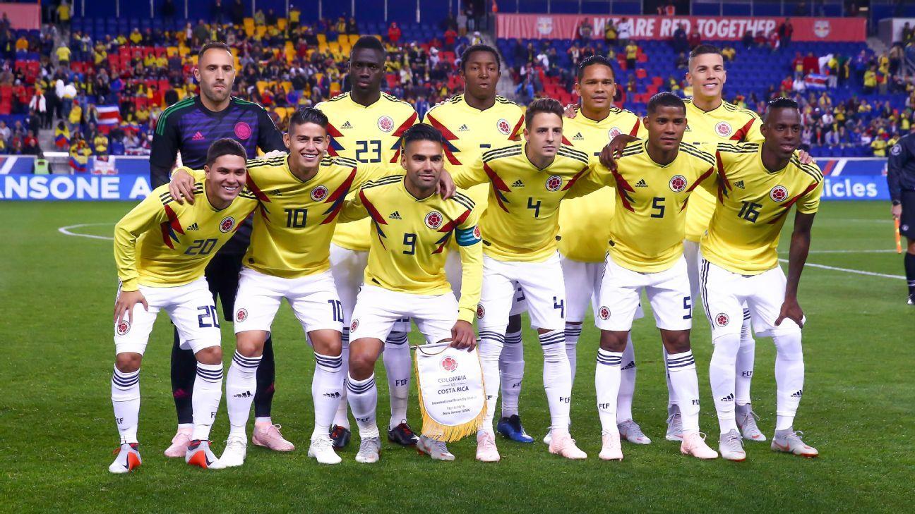 La base de la Selección Colombia para 2019