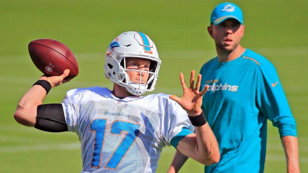 Los Miami Dolphins recuperan a Ryan Tannehill ante los Colts