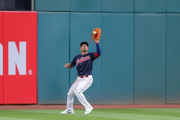 Indians' Leonys Martin cleared to return following bacterial infection