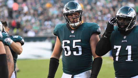 Eagles are down, but Lane Johnson still not buying into 'Patriot Way'