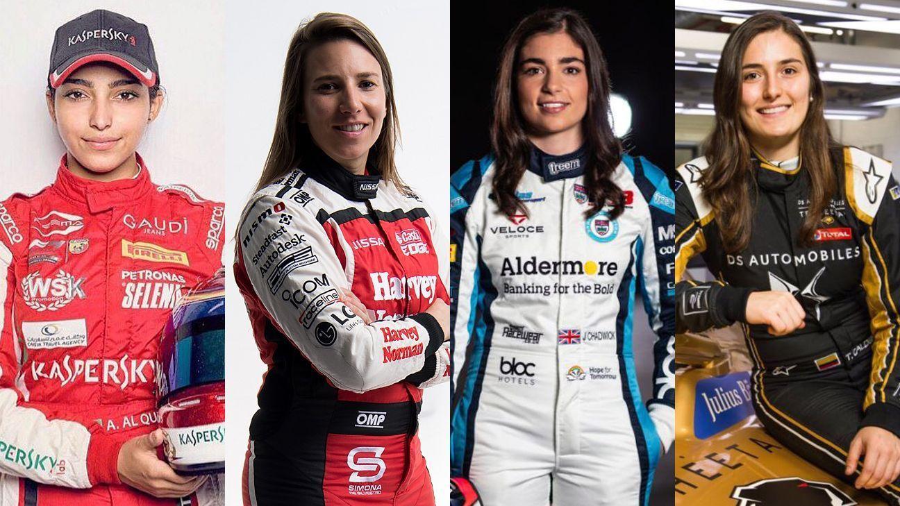 Siete mujeres correrán en pruebas de Fórmula E