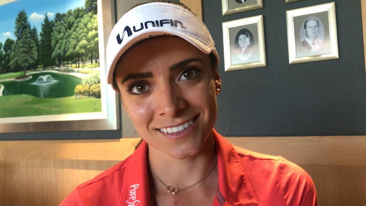 Gaby López valora sacrificios para alzar primer título en la LPGA