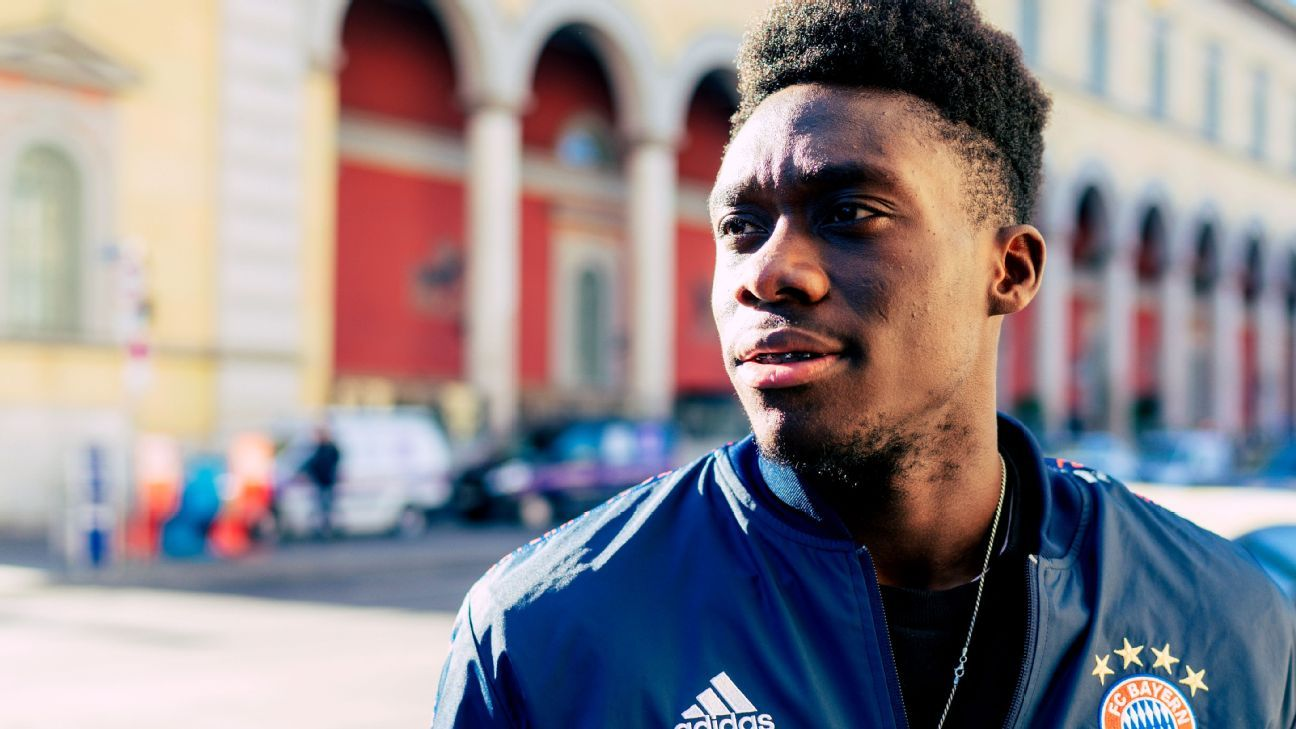 Canada's Alphonso Davies 'very excited' as Bayern Munich career begins