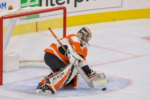 Flyers call up top goaltending prospect Carter Hart for first time