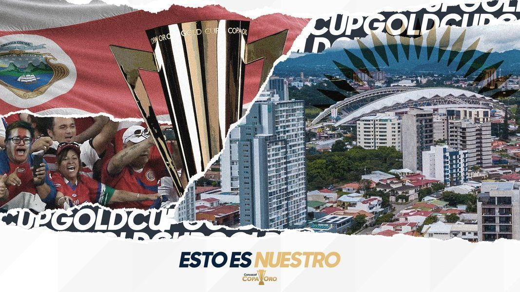 Costa Rica albergará partidos de Copa Oro por primera vez