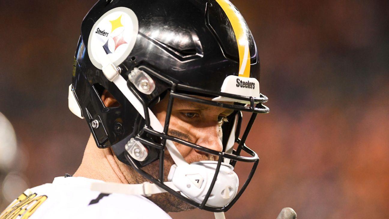 Steelers y Ben Roethlisberger inician negociación contractual