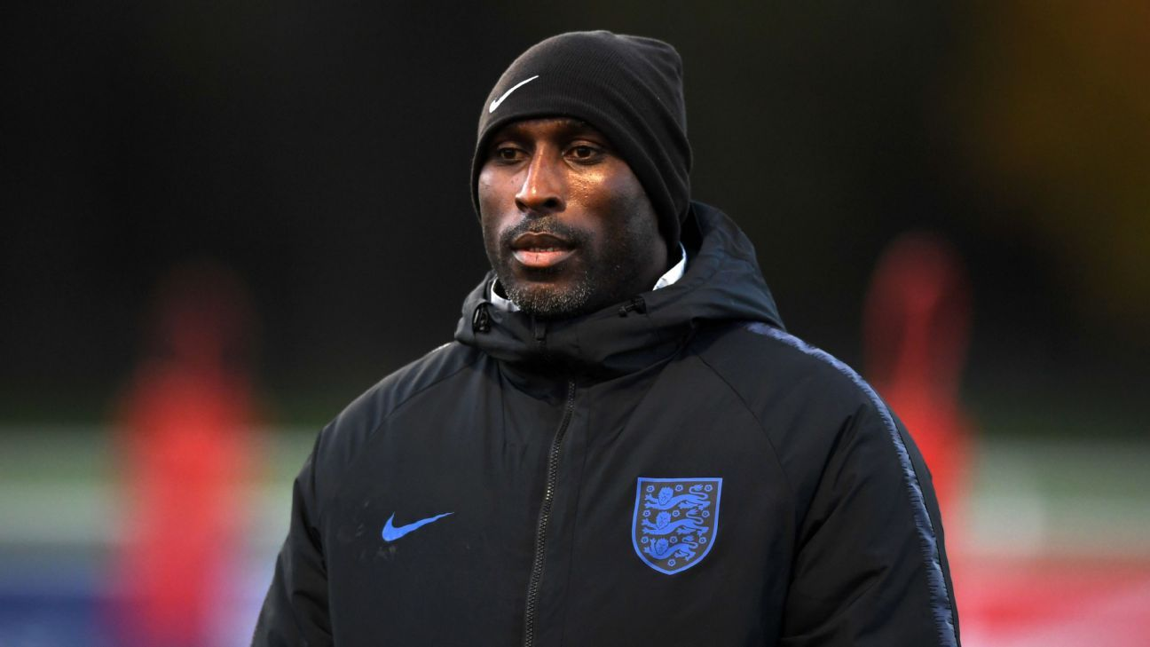 Sol Campbell appointed manager of Macclesfield Town on 18-month deal