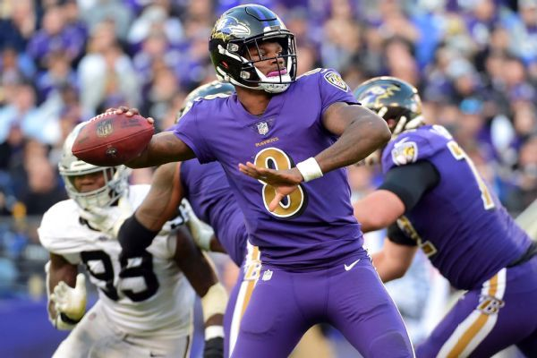 QB Lamar Jackson to continue to start for Ravens