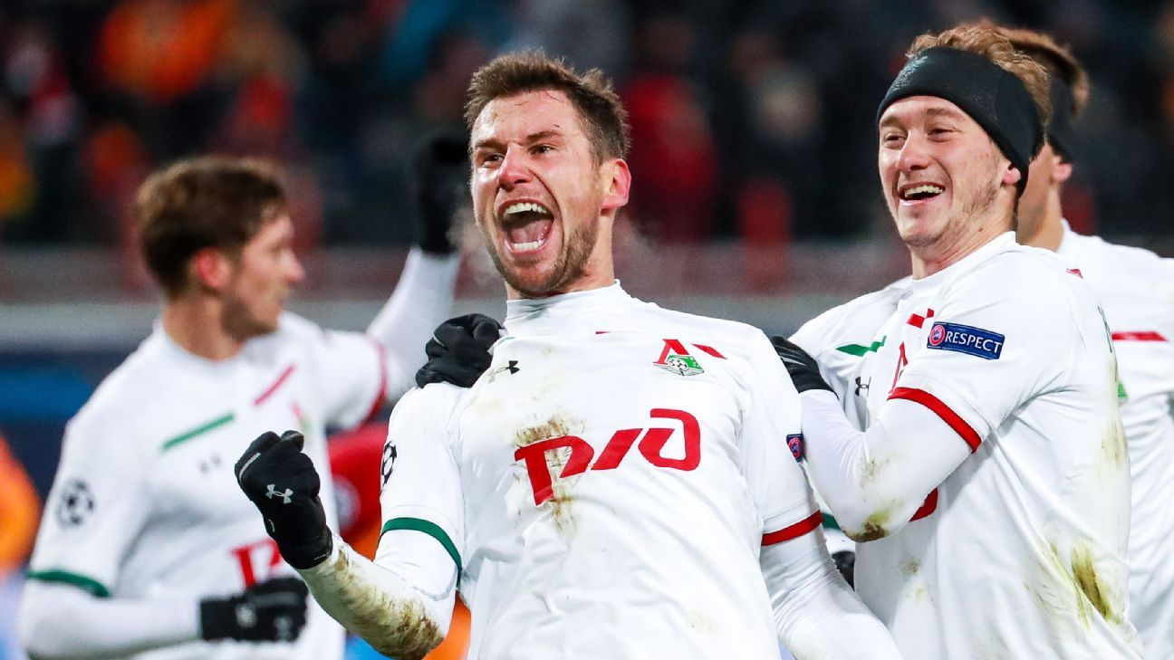 Lokomotiv end Galatasaray Champions League hopes
