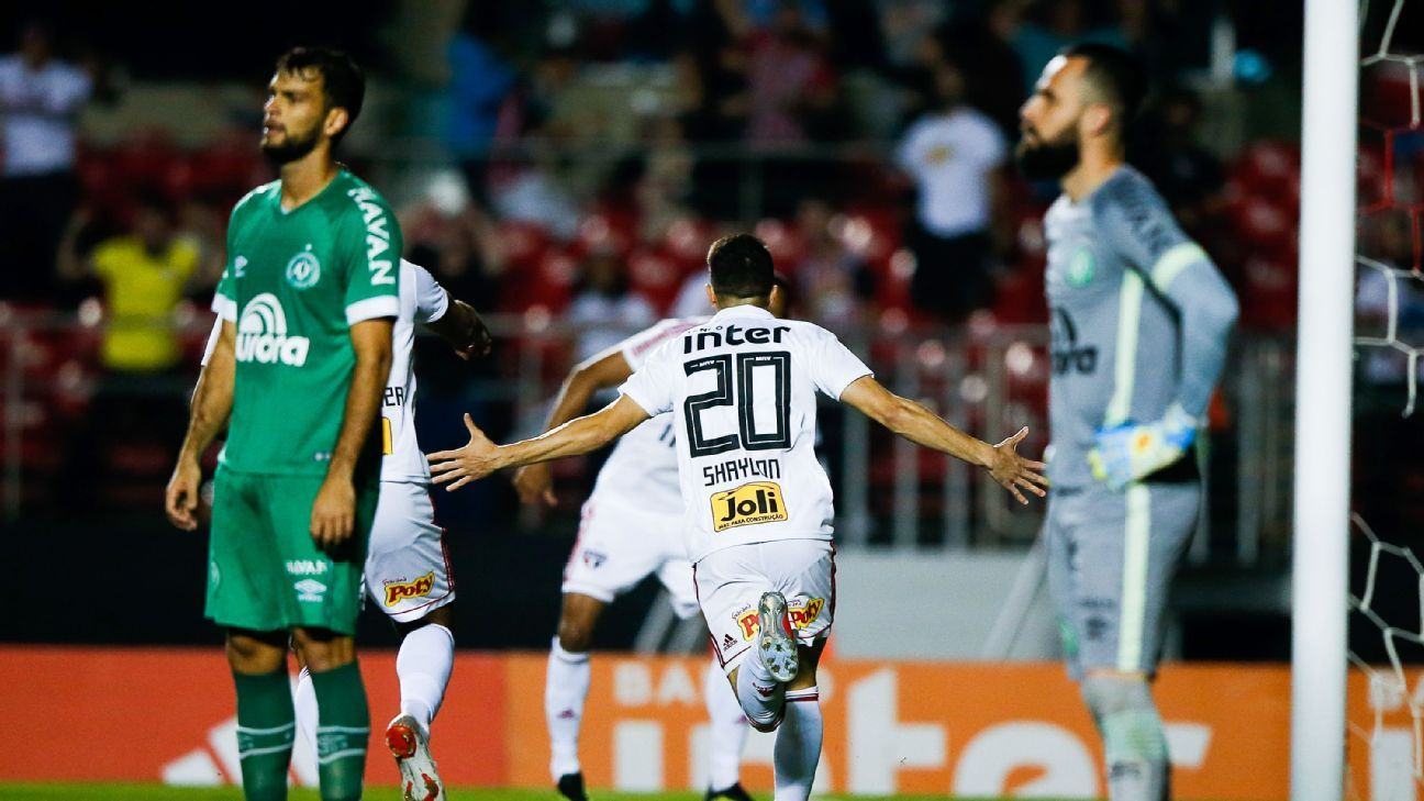 Chapecoense, Brazilian giants Fluminense, Vasco da Gama all mired in tight relegation fight