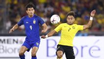 Thailand draw with Malaysia in AFF Cup semifinal first leg