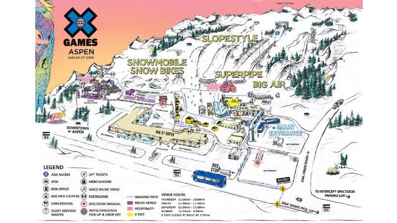 X Games 2019 Schedule X Games Aspen 2019 Brings X Fest to Buttermilk Mountain