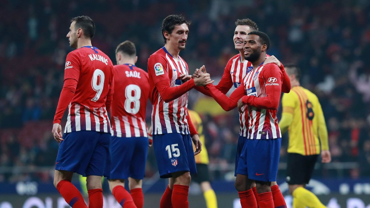 Atletico Madrid beat Sant Andreu to reach Copa del Rey round of 16
