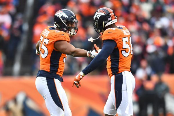 What can defensive mastermind Vic Fangio do with Von Miller and Bradley Chubb?