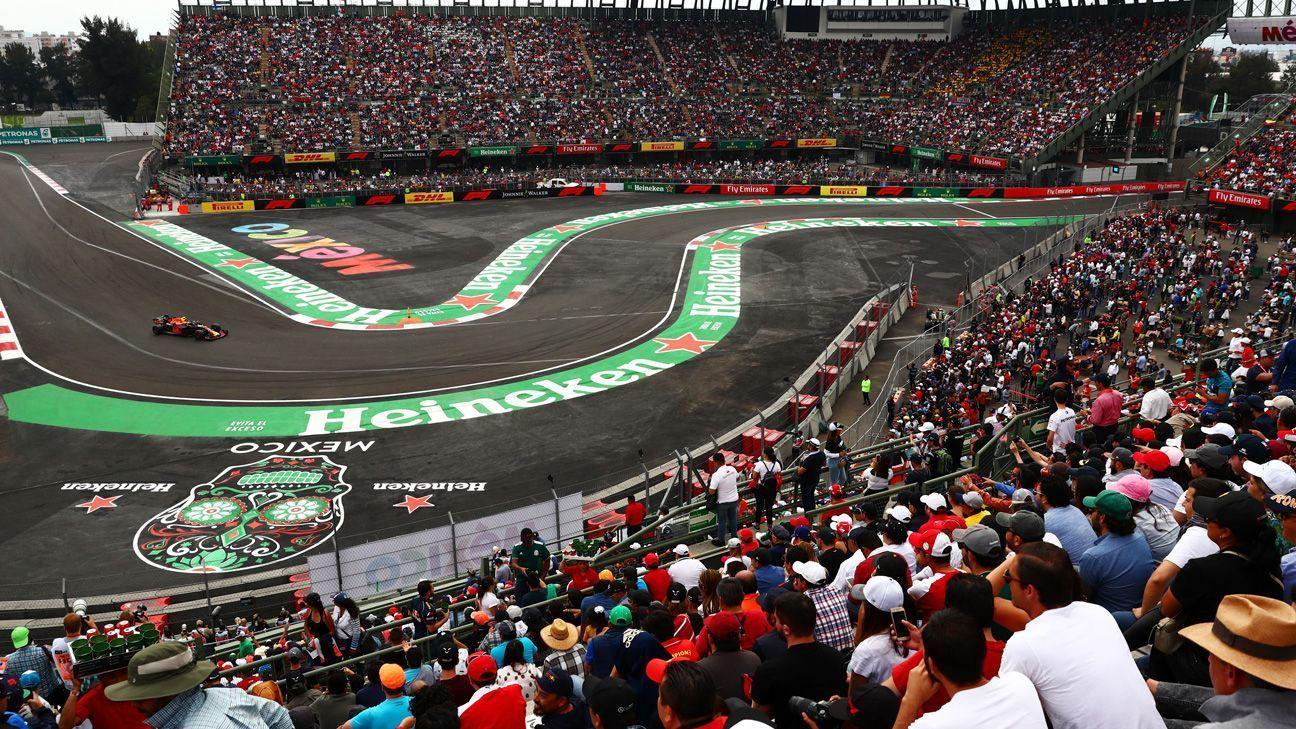 México gana por 4ta ocasión trofeo al mejor Gran Premio de la F1