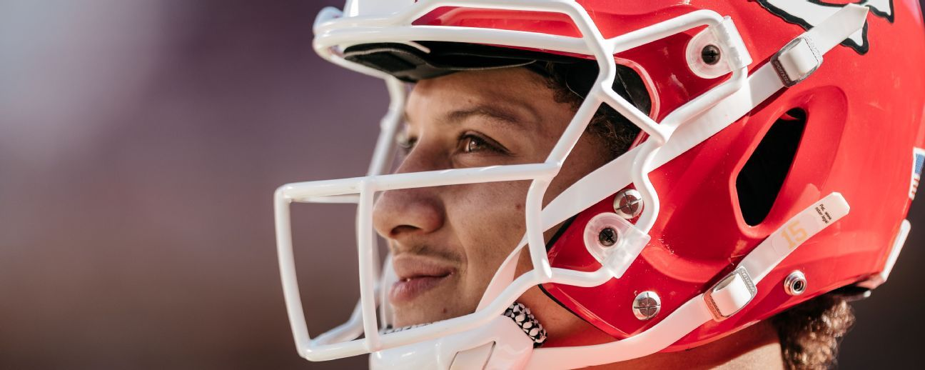 Patrick Mahomes is king of the deep ball