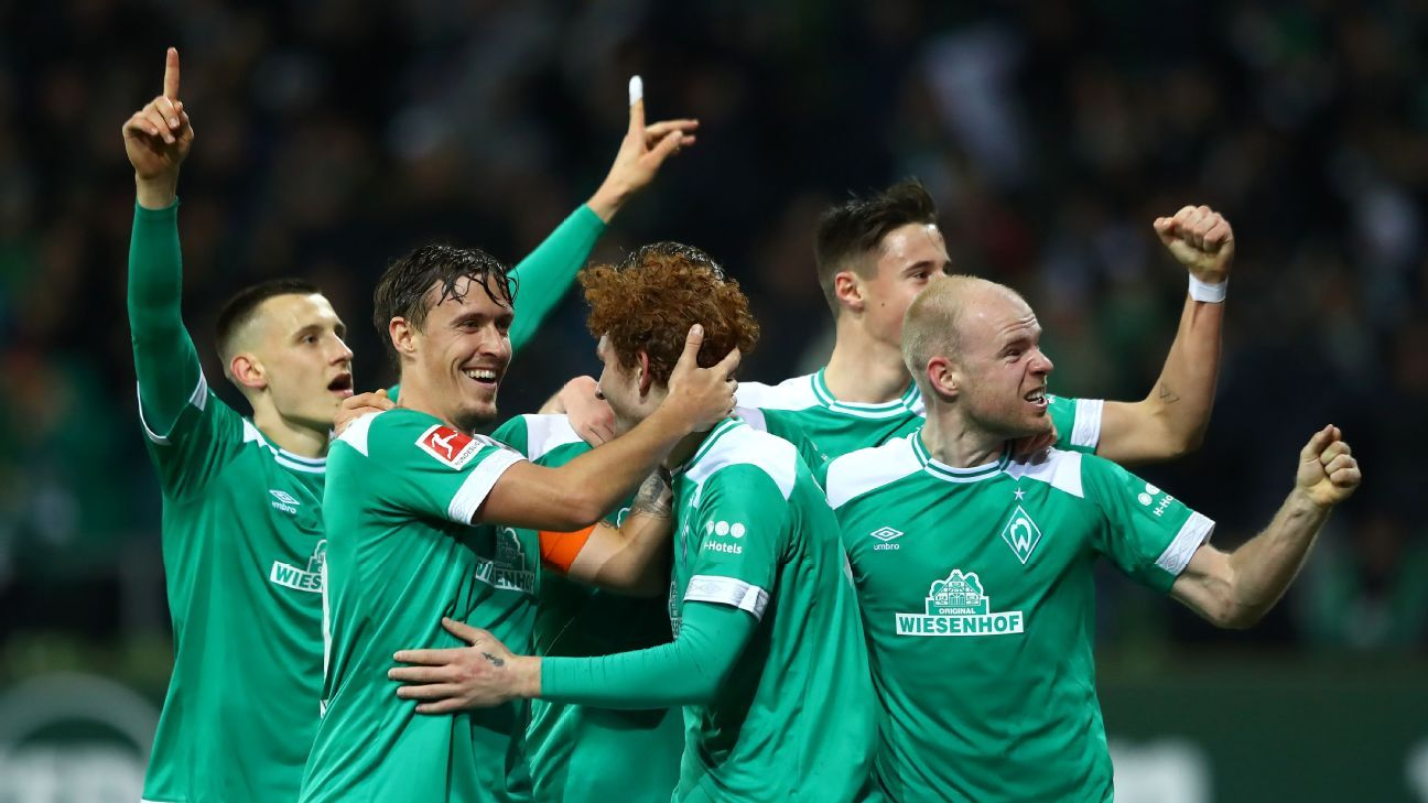 U.S. youngster Josh Sargent scores for Werder Bremen in Bundesliga debut