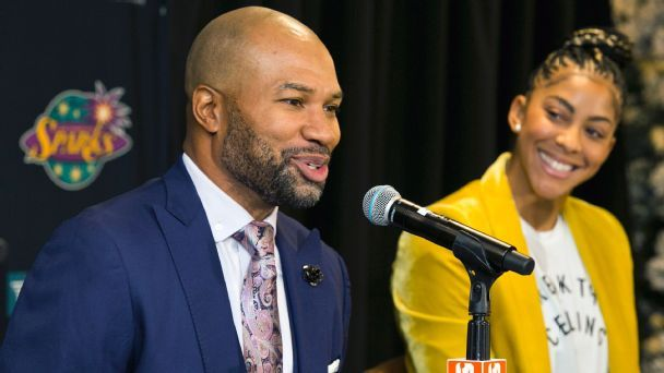 Why the L.A. Sparks put Derek Fisher on a coaching 'list of one'