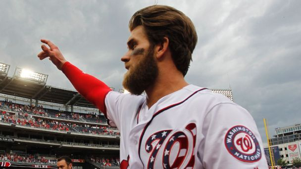 Buster's Buzz: Never say never on Harper going back to the Nationals