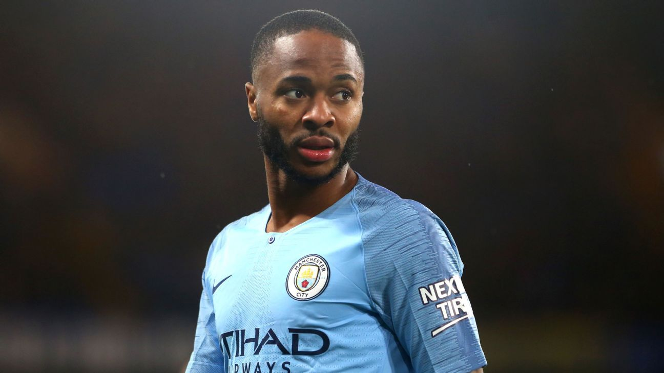 Chelsea ban four fans over alleged racial abuse of Manchester City's Raheem Sterling