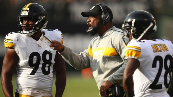 Steelers managing tailspin, and Patriots offer no easy escape