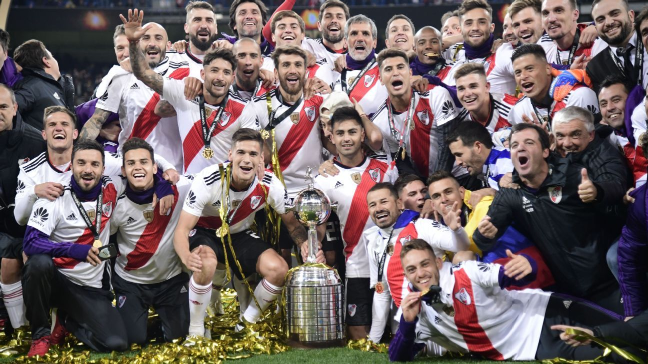 River Plate fan gets QR code tattoo linked to Copa Lib highlight