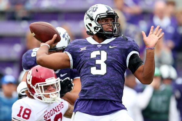 TCU QB Shawn Robinson planning to transfer, source says